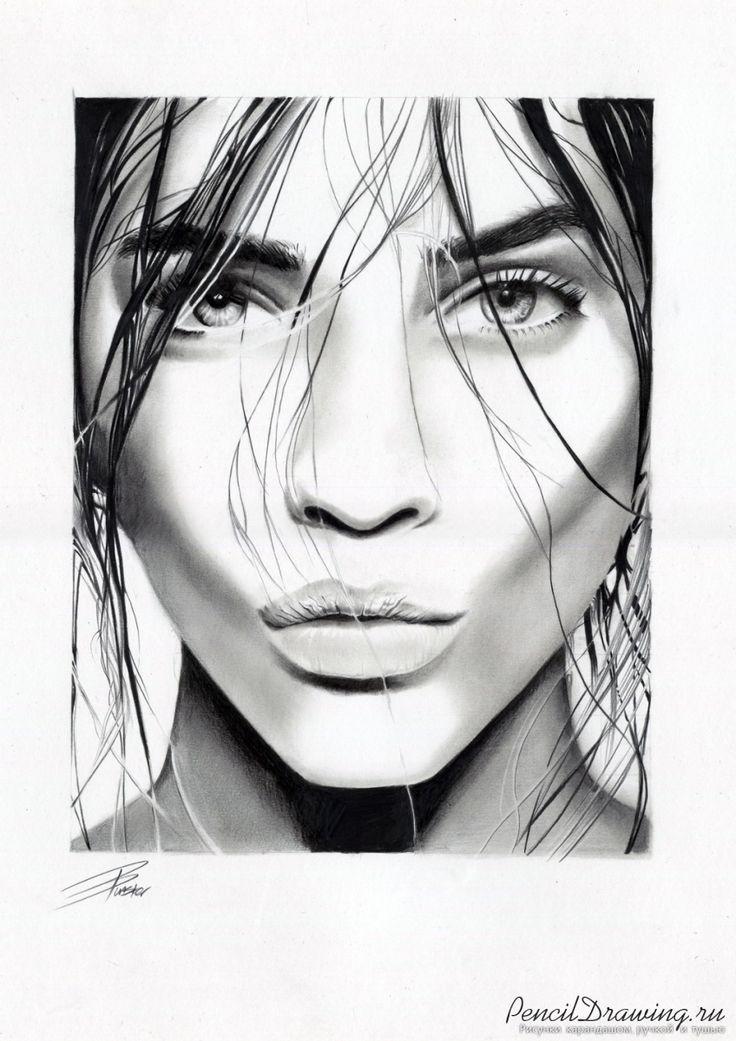 Барбара Палвин. Портрет карандашом. | PencilDrawing.ru - Красивые рисунки карандашом, ручкой и тушью