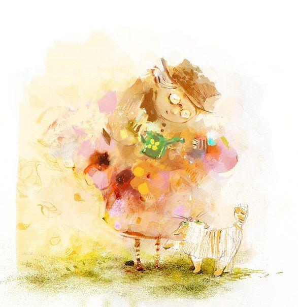 В душе ребенок Художник-иллюстратор Яковлева Полина - Ярмарка Мастеров - ручная работа, handmade