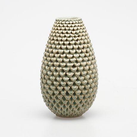 VAS, stengods, Per Liliengren, signerad. Keramik & Porslin - Europeiskt – Auctionet
