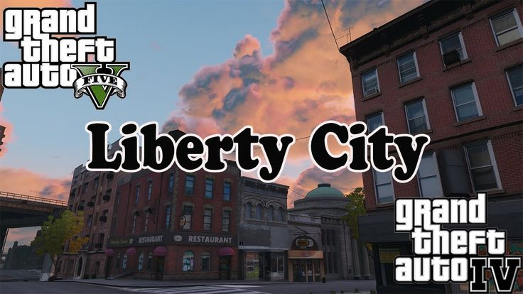 GTA 5 моды - Liberty City