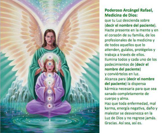 Oración de sanación al Arcángel Rafael.: