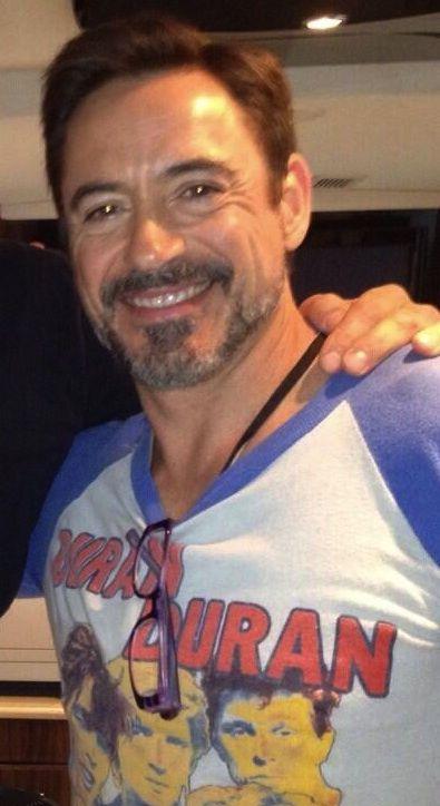 Robert Downey Jr. - first sighting of 2014.  (From Paul Johansson's Twitter)