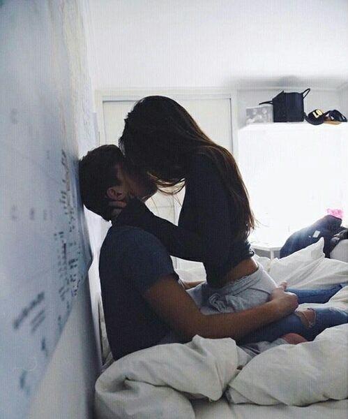Image de couple, kiss, and rock
