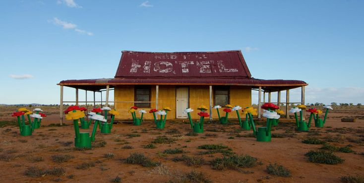 Life-size Lego, Broken Hill, New South Wales