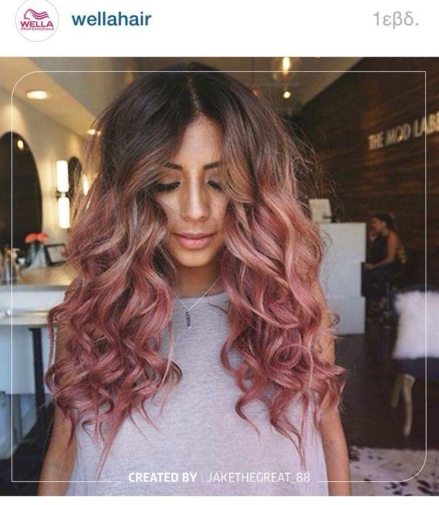 Amazing pink ombré
