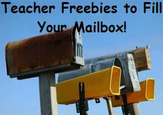 Fill up your mailbox with these fabulous teacher freebies! By One Less Headache.