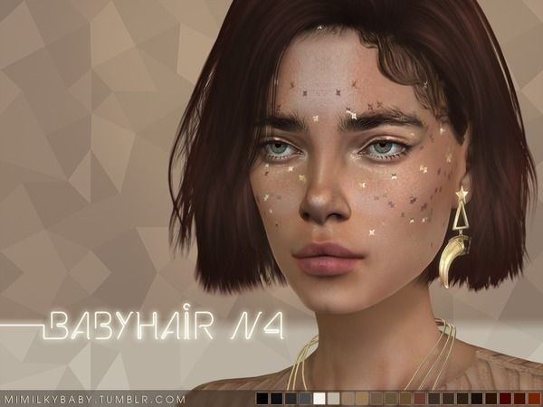 Baby hair for The Sims 4