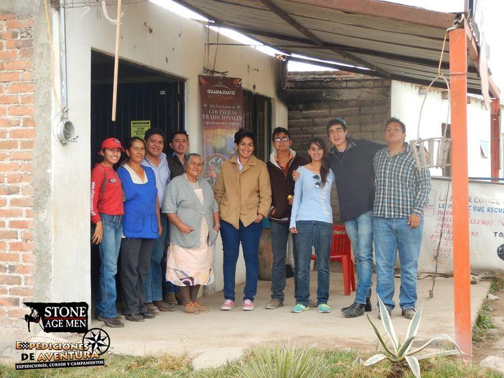 Un orgullo conocer, convivir y degustar los platillos de Doña Rita y Doña Martha, cocineras tradicionales del Estado de Guanajuato