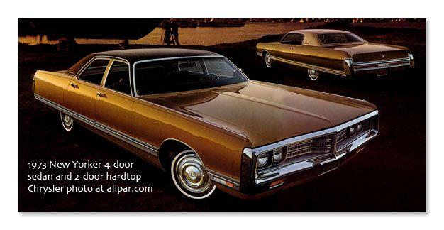 Chrysler NEW YORKER SEDAN 4-DOOR 1973