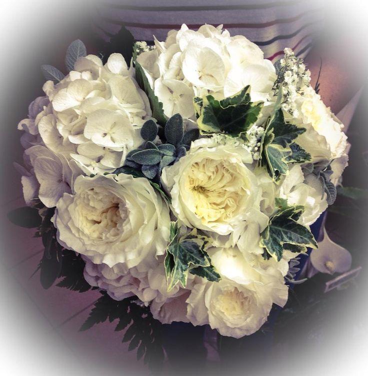Rose Inglesi e Ortensie Bouquet