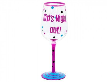 Amazing Premium Hand Painted Wine Glass. Great quality premium glassware. A Fun Gift for your friends  Wine Glass Capacity 400 ml