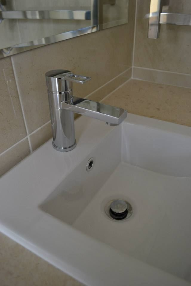 Dolca Basin Mixer (Rounded)   Bathroom Renovations Canning Vale