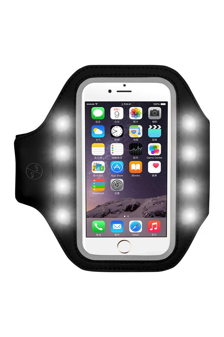 LED Armband Phone Holder