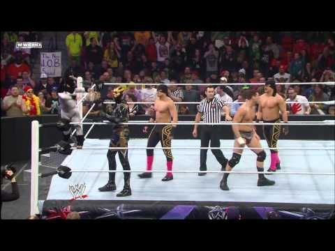 Cody Rhodes, Goldust & Los Matadores vs. Ryback, Curtis Axel, Jinder Mahal & Drew McIntyre: WWE Supe - http://thunderbaylive.com/cody-rhodes-goldust-los-matadores-vs-ryback-curtis-axel-jinder-mahal-drew-mcintyre-wwe-supe/