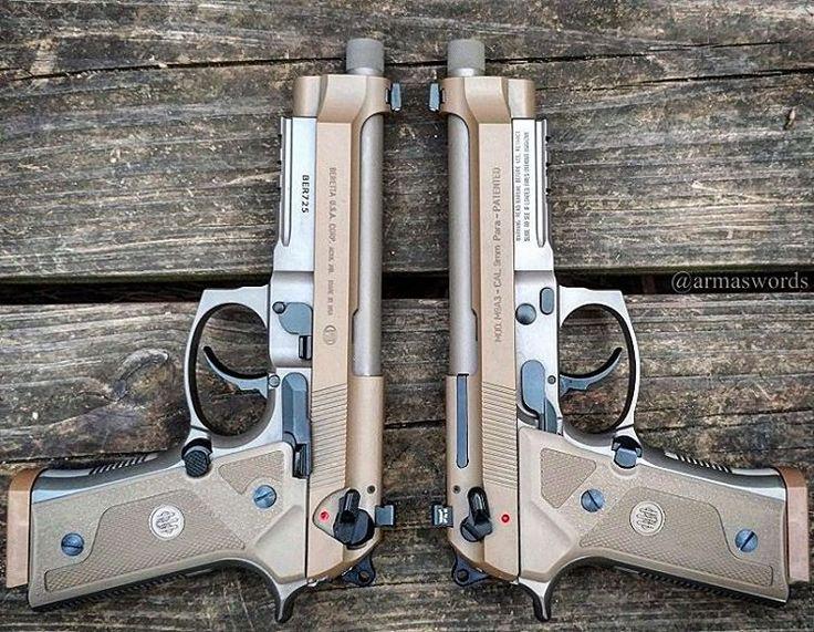 "armaswords: "" Manufacturer: Beretta Mod. M9A3 Type - Tipo: Pistol Caliber - Calibre: 9 mm Capacity - Capacidade: 17 Rounds Barrel length - Comp.Cano: 4.9 Weight - Peso: 997..."