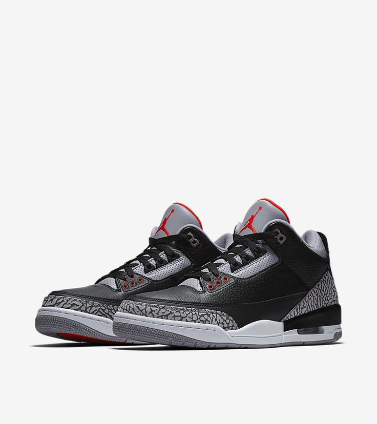 Air Jordan III (3) Retro OG 'Black Cement' -Release Date: