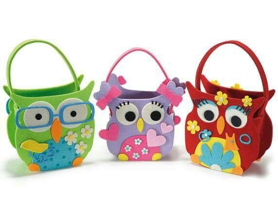 Cute owl craft.