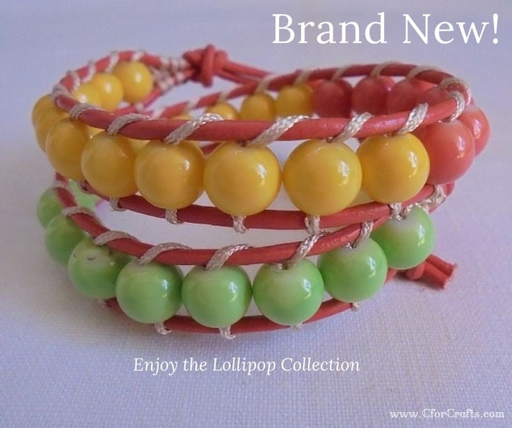 Discover the Lollipops Collection and celebrate summer! #CforCrafts_jewellery
