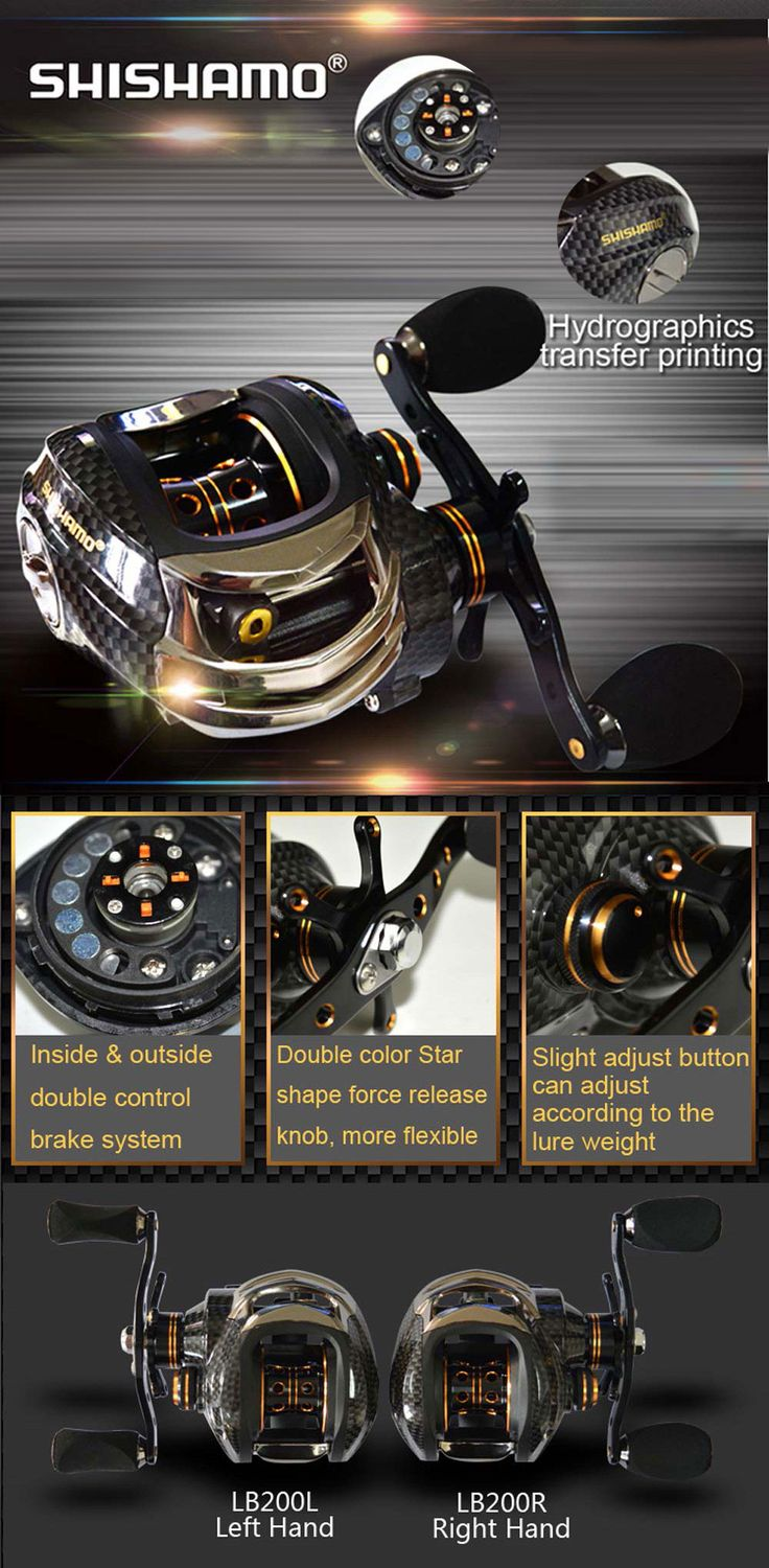 Shishamo LB200 Left Hand Right Hand Fishing Bait Casting Reel with One Way Clutch Ultra Light Fishing Reel Baitcaster Coil-in Fishing Reels from Sports & Entertainment on Aliexpress.com | Alibaba Group