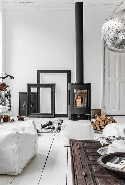 lookslikewhiteBlogInspiration in White: Wood Stoves