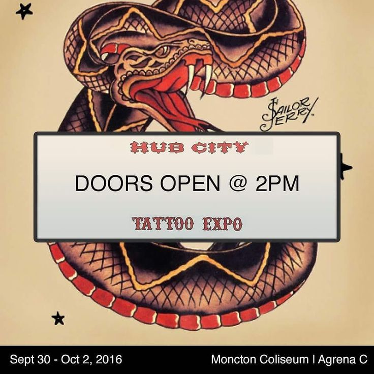 It's time for the Hub City Tattoo Expo in Moncton!  @juliethepiercer will be piercing at the Expo all weekend!  The rest of the crew will be in the studio this weekend; we have openings at both the expo and in the studio!  Call 902-843-3525 to book in the studio or DM to book at the expo.
