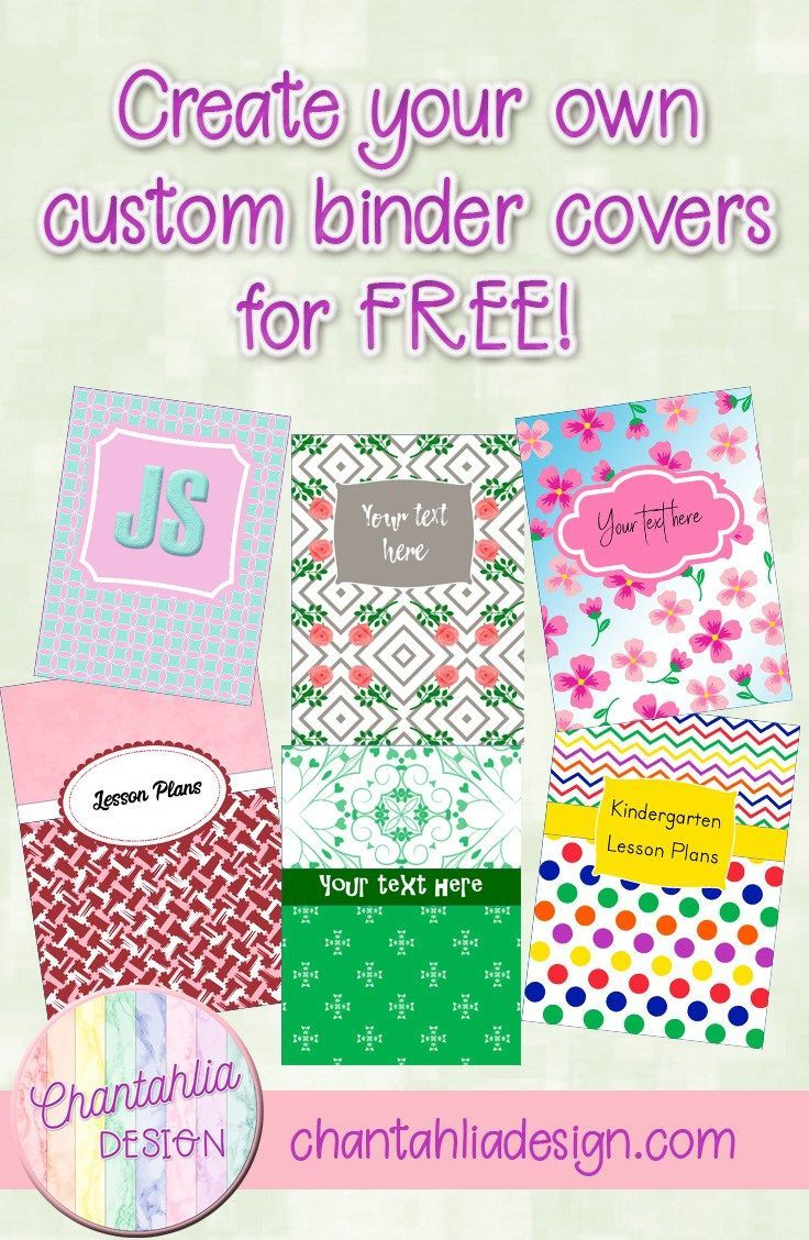 create your own custom binder covers for free this tutorial will