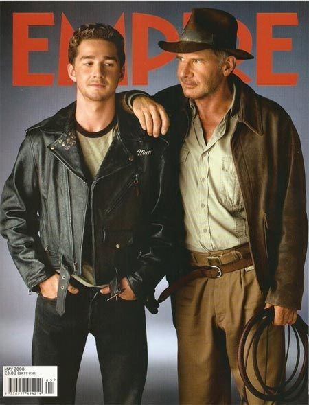Indiana Jones IV (Harrison Ford and Shia LeBeouf)...am I the ONLY one who thinks there should be a DNA test!