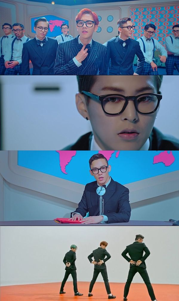 """Group EXO's unit group, CBX (Chen, Baekhyun, and Xiumin) released their first album """"Hey Mama"""" accompanied by a music video of the title track on October 31, KST. The release of CBX's very first album was received with an explosion of attention and the music video of their title track, """"Hey Mama"""" has now overMore"""