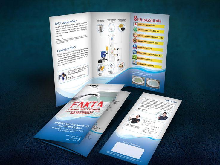 Desain Brosur PT. Hydro Water Technology oleh www.SimpleStudioOnline.com | Order desain brosur profesional >> WA : 0813-8650-8696
