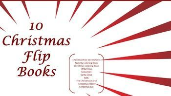Christmas Information Booklets (Flip Books) by Marilyn of all grades | Teachers Pay Teachers