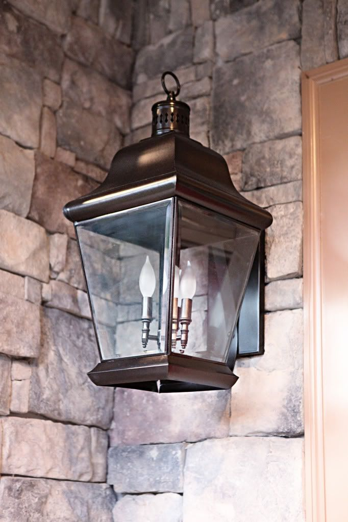 Diy Oil Rubbed Bronze Front Porch Lights By Bower