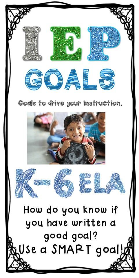 IEP goals that are easy to copy and paste.  They saved me TONS of time and are oh so helpful when I just can't think what the goals should be.  These really are SMART goals