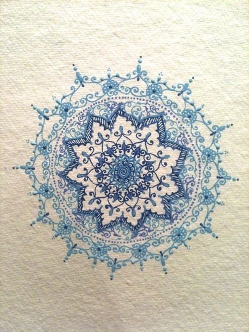 Blue lace. This would be great for what I'm looking for if it was perfectly symmetrical