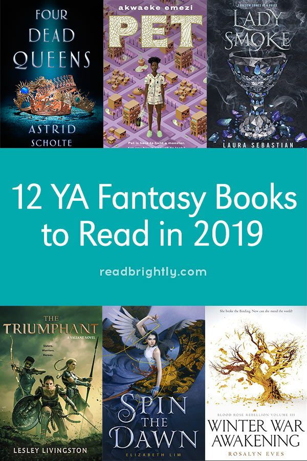 12 YA Fantasy Books to Read in 2019 | Books for Teens