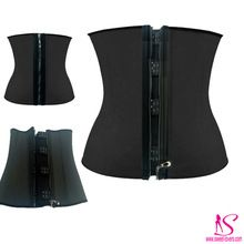 Wholesale weight loss ann cherrry waist trainer belt strong 3 hooks zipper waist trainer corset steel boned latex waist trainer Best Buy follow this link http://shopingayo.space