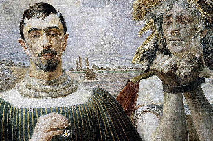 Jacek Malczewski  Portrait of Eleksander Wielopolski  1903  oil on canvas