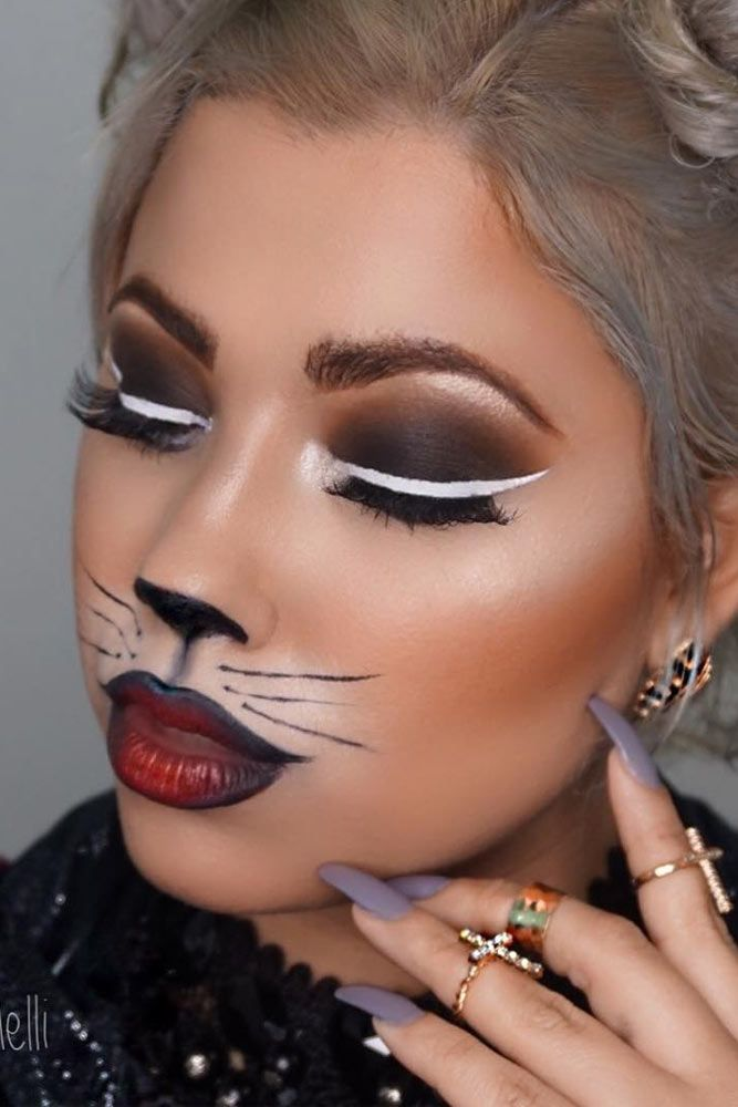 15 Newest Halloween Makeup Ideas to Complete