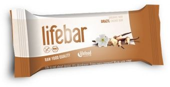 Lifebar RAW ENERGY BARS Brazil Nut