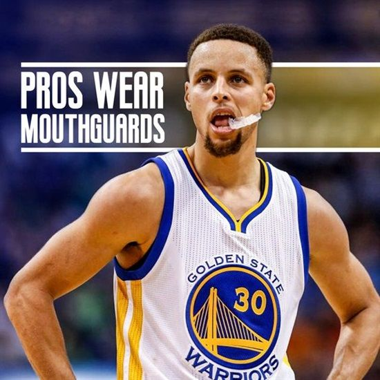 Dentaltown - Professional basketball players like Stephen Curry wear mouthguards they're on the court. Are you protecting your smile when you play ball?