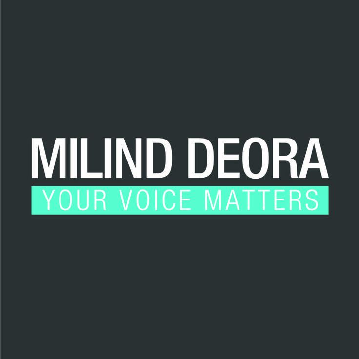 Milind Deora , Political leader