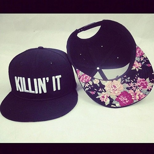 Killin it snap backs, from J star's clothing line!