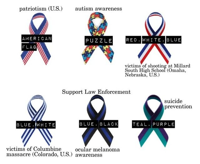 165 Best Multiple Awareness Ribbon Causes And Colors