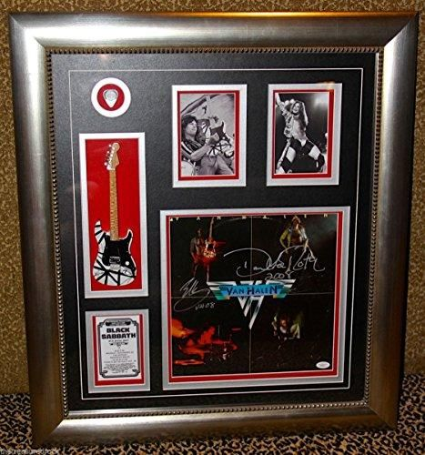 Just added another great item to our store VAN HALEN LP RECO... check it out @ http://guitarisms.com/products/van-halen-lp-record-david-lee-roth-eddie-signed-display-guitar-evh-pick-jsa-coa?utm_campaign=social_autopilot&utm_source=pin&utm_medium=pin