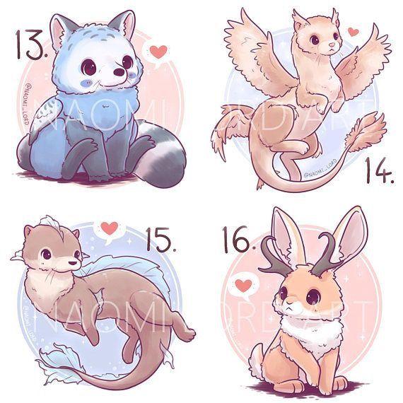 These Are So Cute Cute Animal Drawings Kawaii Cute Kawaii Animals Animal Drawings