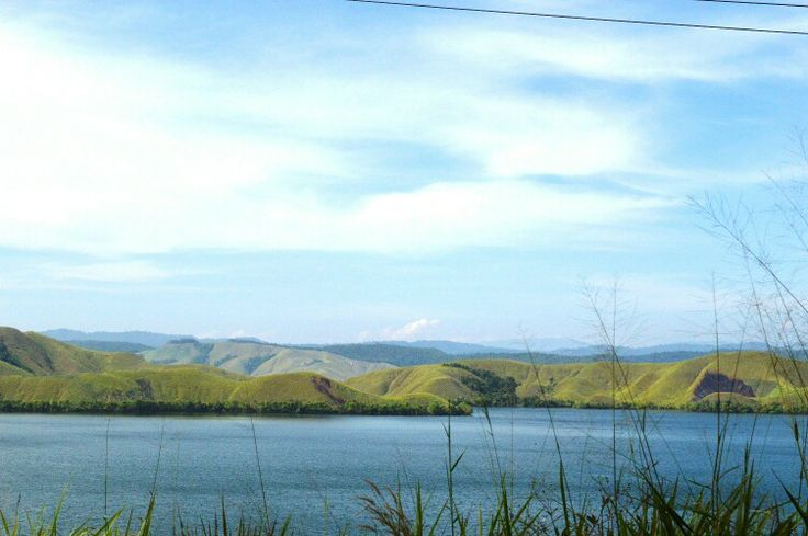 Sentani Lake. Papua