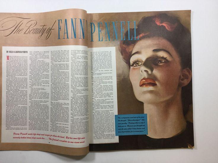 Andrew Loomis. 1942 LADIES-HOME-JOURNAL-Magazine-December-Joan-Crawford-Movie-Star-Actress