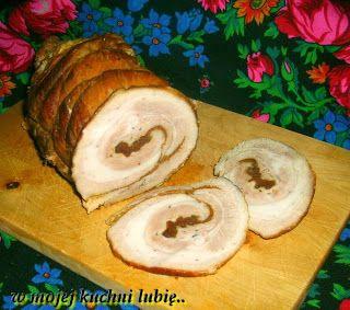 """W Mojej Kuchni Lubię..: boczek na ostro """"grill barbecue"""" do chleba..."""