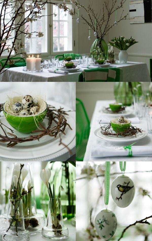 Paastafel groen