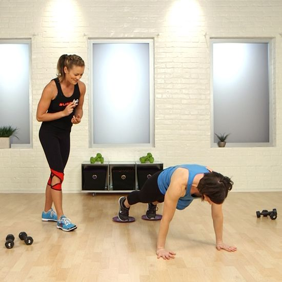 La Fitness With Towel Service: How To Get LA's Burn 60 Workout At Home