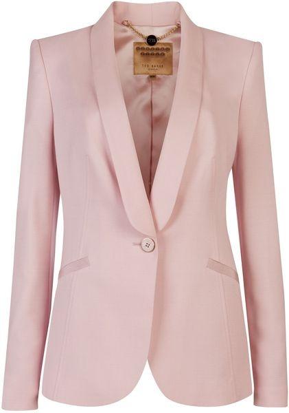 TED BAKER LONDON Jayne Tuxedo Suit Jacket - Lyst